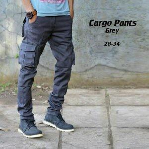 Konveksi Celana Cargo Panjang Model Slim