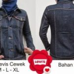 Konveksi jaket jeans cewe levis